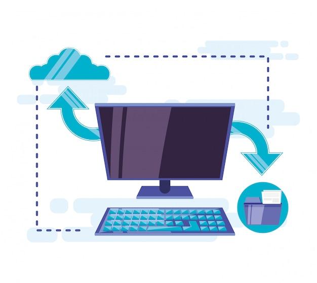 Cloud computing mit desktop