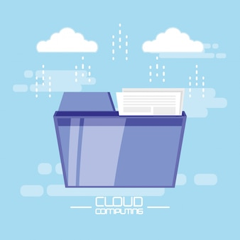 Cloud-computing mit dokumentenordner