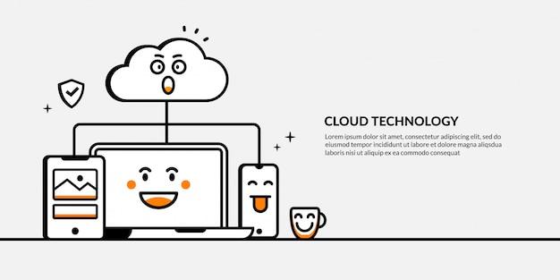 Cloud computing und datenspeicherung, übersicht über die hosting-servertechnologie