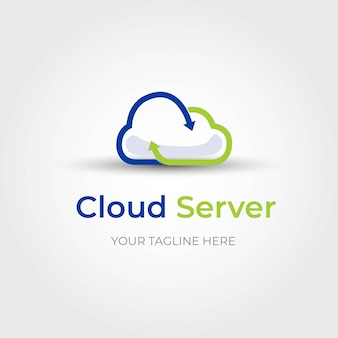 Cloud server-logo