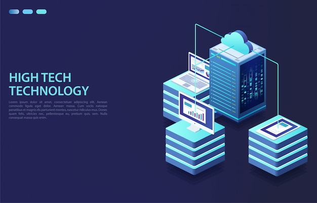 Cloud-speicherdaten und synchronisation von geräten.