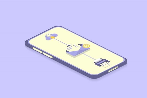 Cloud-speicherung im smartphone