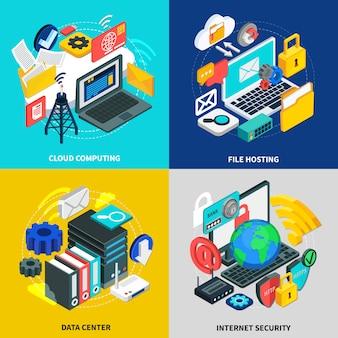 Cloud-technologie-zusammensetzungssatz
