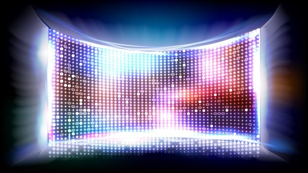 Club disco screen geführt