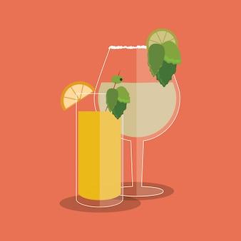 Cocktail Drink Glas Bild