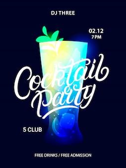 Cocktail-party-plakat.
