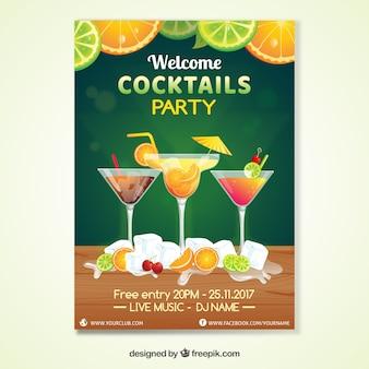 Cocktailpartyeinladung