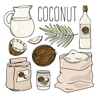 Coconut vegetarische paleo diet natural