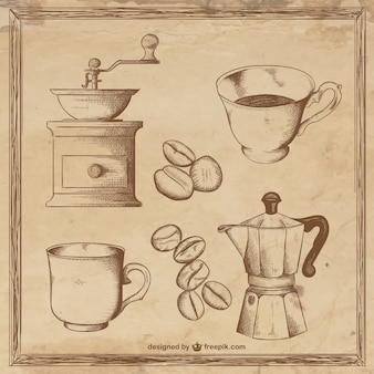 Coffee illustrationen