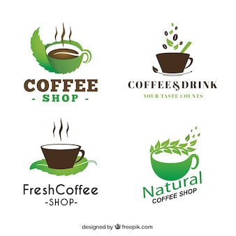 Coffee-shop abzeichen sammlung