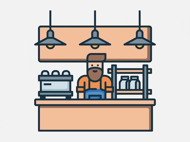 Coffee-shop-elemente
