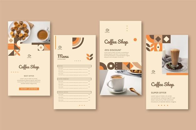 Coffeeshop instagram geschichten