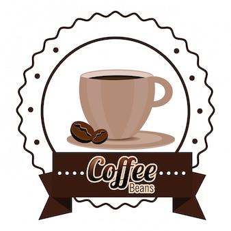 Coffeeshop und getränk