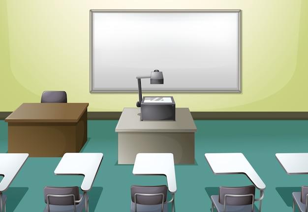 College-klassenzimmer