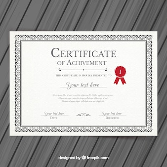 Zertifikat Vektoren, Fotos und PSD Dateien | kostenloser Download
