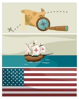 Columbus tag cartoons