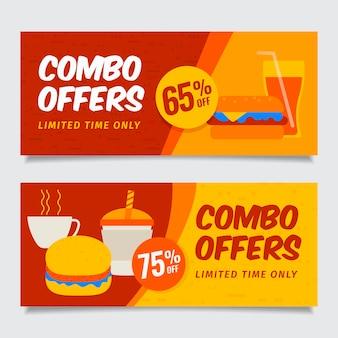 Combo bietet banner an