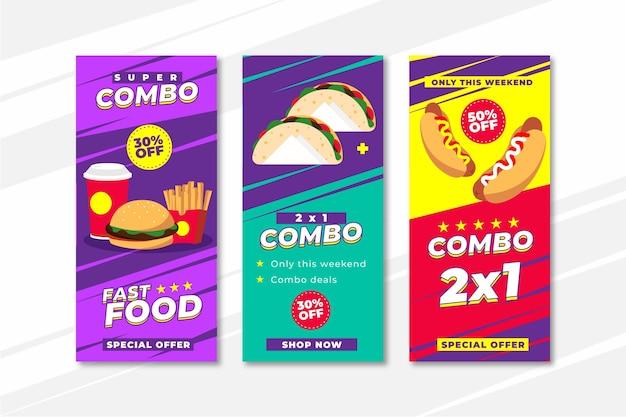 Combo bietet bannersammlung an