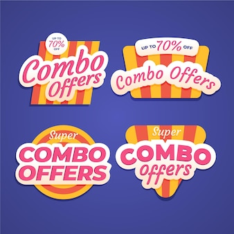 Combo bietet etiketten an