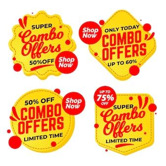 Combo bietet etikettenkollektion an