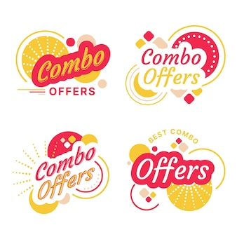 Combo bietet etikettenkonzept