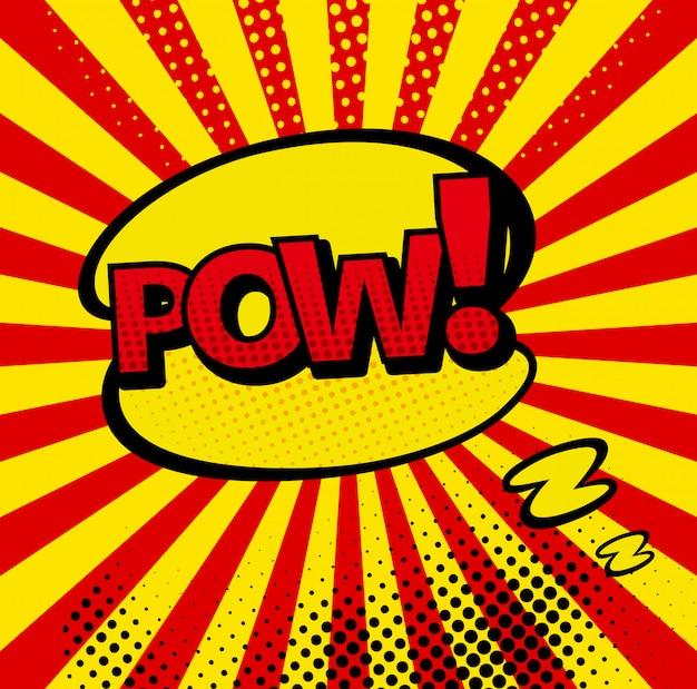Comic-bläschen und sound explosionen symbole mit sonnenstrahlen