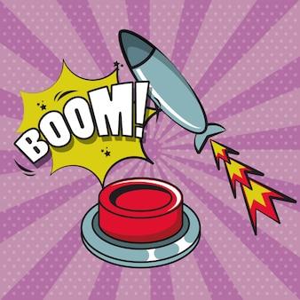 Comic-explosions-pop-art-karikatur