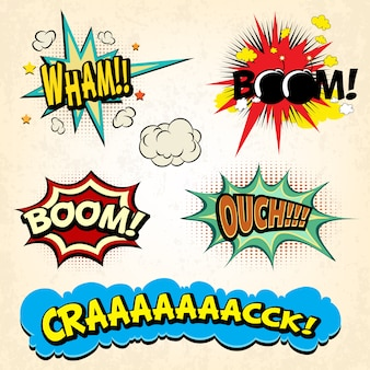 Comic-explosions-sammlung