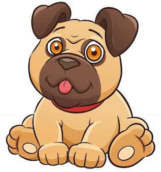 Comic hund