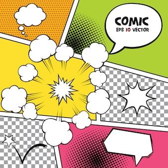 Comic sprechblasen und andere