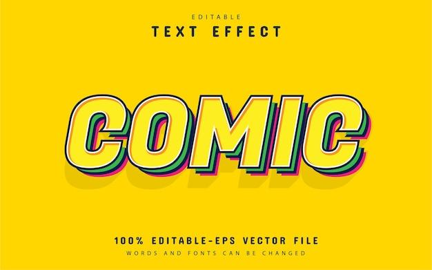 Comic-texteffekt editierbar