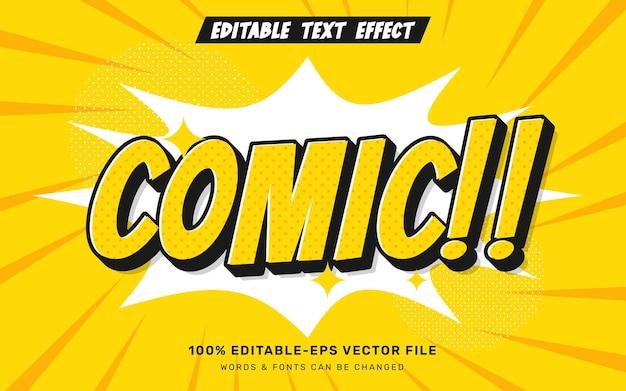 Comic-texteffekt