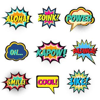 Comic-wörter