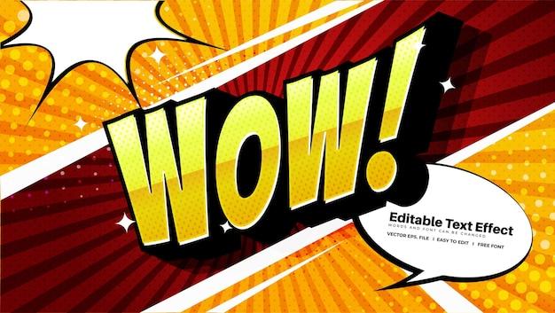 Comic-wow-text-effekt