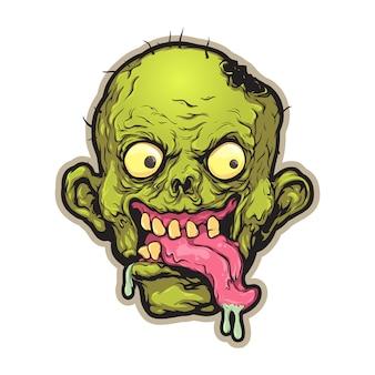 Comic-zombie-kopf