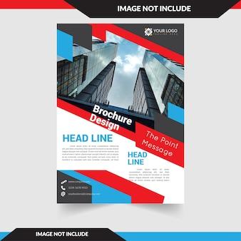 Commercial flyer für immobilienunternehmen