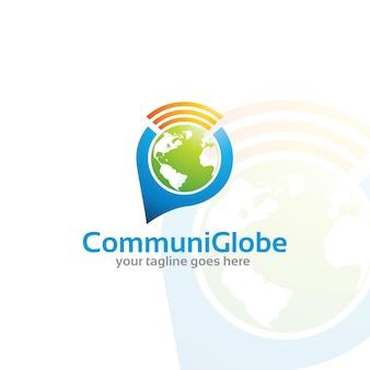 Communiglobe - logo vorlage