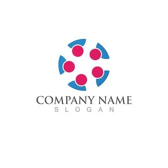 Community people team, netzwerk und soziales symbol social