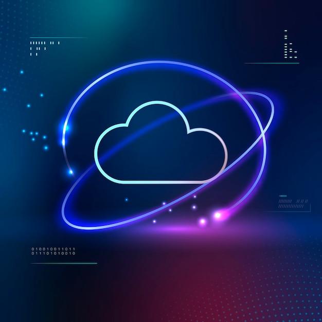 Computer-cloud-netzwerktechnologie
