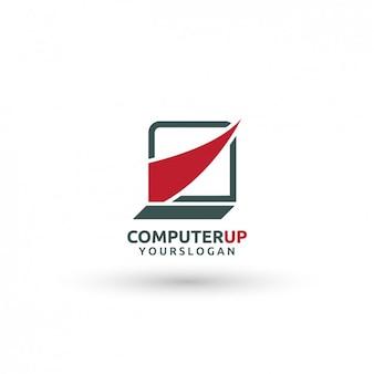 Computer-logo-vorlage