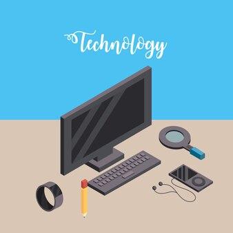 Computer mit smarphone und smartwatch technologie verbinden