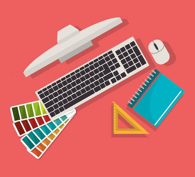 Computer-webdesign