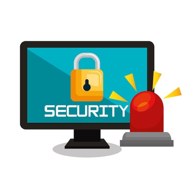 Computersicherheitsdatenbanksperre