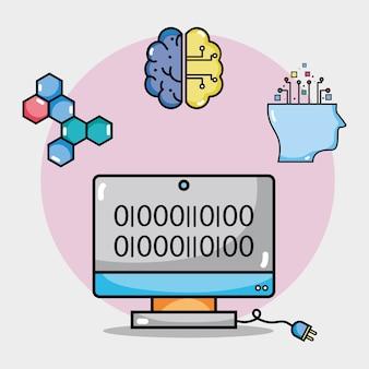 Computertechnologie mit schaltungen code