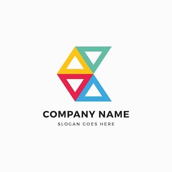 Connect c buchstabe logo design