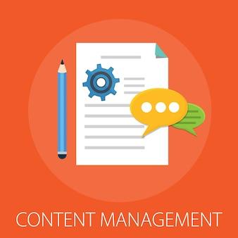 Content management und werbung