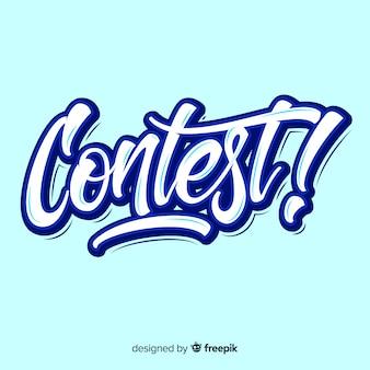 Contest-schriftzug