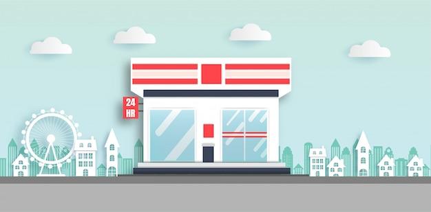 Convenience-stores sind rund um die uhr geöffnet.