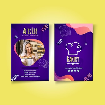 Cookies id-kartenvorlage