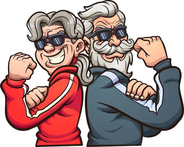 Coole großeltern